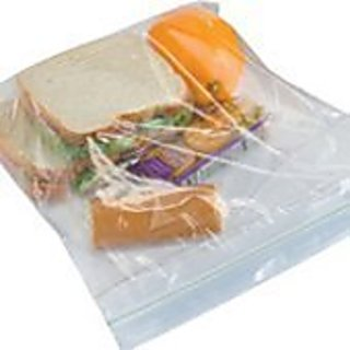 Interplas CZPP20912 2 Mil High Clarity Zip Lock Polypropylene Bags, 12