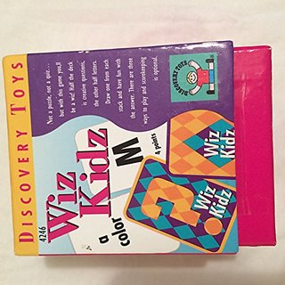 Wiz Kidz Card Game (Draw One Creative Questions and Answers)
