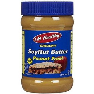 I.M. Healthy Soynut Butter, Original Creamy, 15-Ounce Plastic Jars