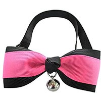 Dog Cat Pet Adjustable Bow Tie With Bell- Large Size DLJ22 (1)