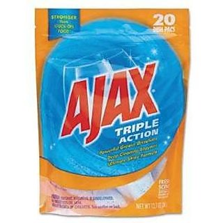 ONLY 1 IN PACK Ajax Triple Action Automatic Dishwasher Detergent Packs, Fresh Scent, 1 Package