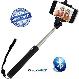 Selfie Stick Bluetooth for iPhone 6 & iPhone 6 Plus Monopod Extendable Pole -Trusted Products- Handheld Self-Portrait Re