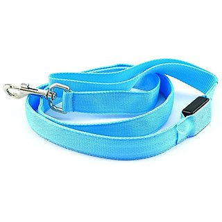 4 Dog Leash with LED Light - Assorted Colors (Blue)