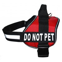Service Dog Vest Harness With Removable Velcro Patches And Reflective Trim, Xsmall, Small Medium Large XL Size, Purchase