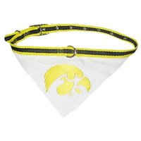 Mirage Pet Products Iowa Hawkeye Bandana For Dogs And Cats, Large