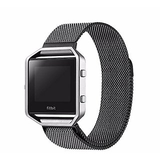 Fitbit Blaze Smartwatch Replacement Band Large, Niutop Milanese Loop Stailess Steel Bracelet Strap for Fitbit Blaze Smar