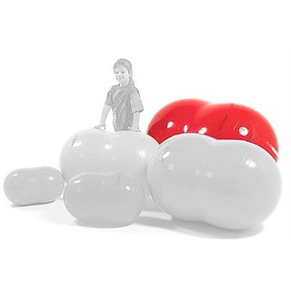 Physiotherapy Physio Roll 85 Ball in Red