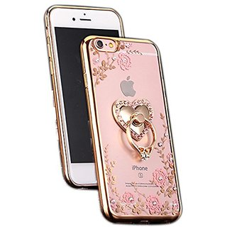 Sundry Secret Garden of TPU Soft Rubber Shell Case Cover for iphone 6 Golden(iphone 6 case,iphone 6s case)