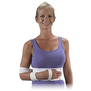 SHOULDER IMMOBILIZER WHITE (XL)