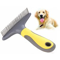 Grooming Tool,HYSJY 30 De-Matting Comb, Stainless Steel Comb For Short Hair,Long Hair Pet Coats Fit Medium Dog,Large Dog