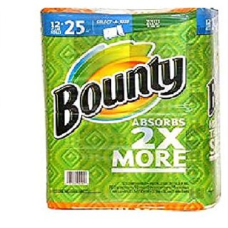 Bounty Select-a-Size Paper Towels, White, 12 Count