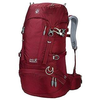 Jack Wolfskin Womens Acs Hike Daypack, Cabernet, 30 L