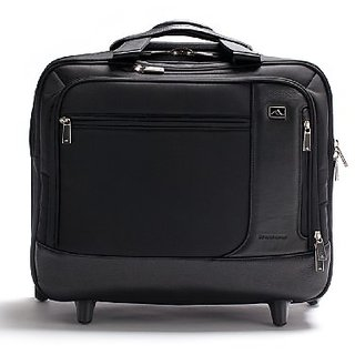 Brenthaven Broadmore - Wheeled Case Briefcase Black