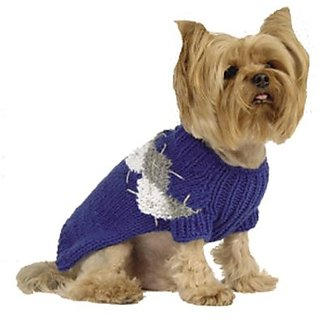 Maxs Closet 00096-16 Royal Modern Argyle Sweater