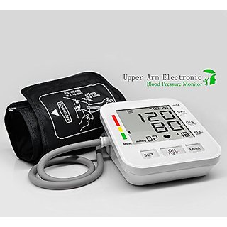 Beyoung(TM) A03 Upper Arm Blood Pressure Monitor Fully Automatic Digital Pulse Monitor, 99 Sets of Memory + Voice Broadc