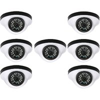 EwareHD Security Camera CCTV Night Vision Dome 7 PCS Camera 1000TVL With 1 Year Warranty(7 PCS CAMERA)
