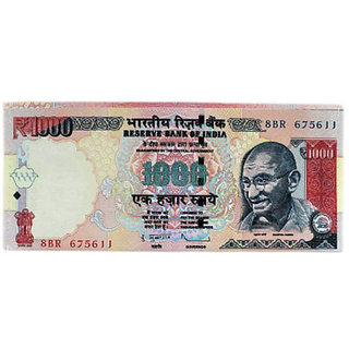 Set Of 2- 500/1000 Rupees Indian Note Smart Currency Wallet Amazing Look - Unisex Best Gift