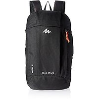 Quechua Multicolor Zip Closure,Laptop Compartment Backpack
