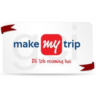 Make My Trip Gift Card Worth Rs. 10000 (Makemytrip.Com)