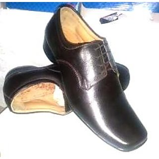 SS Export Men Brown Formal Shoes