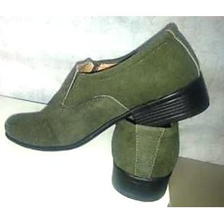 SS Export Men's Green Casual Shoes