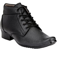 Shoe Day Men Black Lace-Up Formal Shoes - 101199370