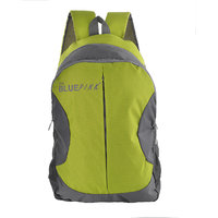 The Blue Pink Green Zip Closure Backpack