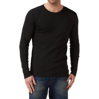 Black round neck sleeve