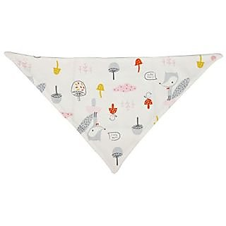 Cutebaby Sprout Triangle bib scarf bib for babys Pink