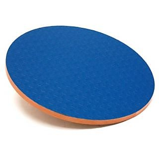 3B Scientific W15078 Eucalyptus Wood Circular Wobble Board 0 - 16 Degree Angles, 3