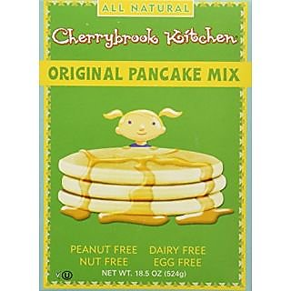 Cherrybrook Kitchen Original Pancake Mix, 18.5-Ounce Boxes (Pack of 6)