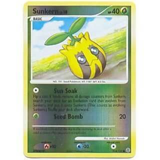 Pokemon - Sunkern (114) - Secret Wonders - Reverse Holo