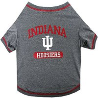 Pets First Collegiate Indiana Hoosiers Dog Tee Shirt, Small