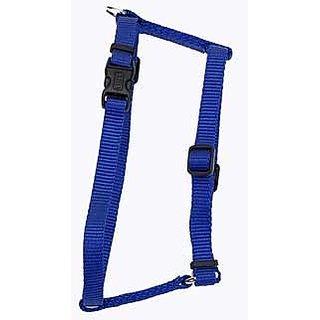Coastal Pet Products DCP6643BLU Nylon Standard Adjustable Dog Harness, Medium, Blue
