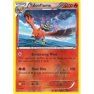 Pokemon - Talonflame (28/146) - XY - Reverse Holo