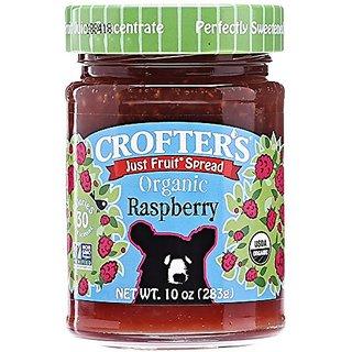 Crofters Organic Raspberry Just Fruit Spread - 10 oz