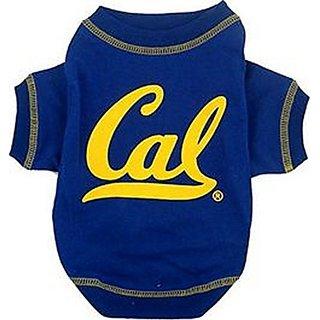 Pets First Collegiate California Golden Bears Berkeley Dog Tee Shirt, X-Small