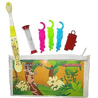 Brush Buddies 43272-144 Kids Hygiene Toothbrush Kit (Pack of 144)