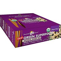 Amazing Grass Whole Food Nutrition Bar, Oatmeal Raisin Nut - High Fiber, Box Of 12 Bars, 2.1 Ounce (Pack Of 12)