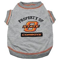Pets First Collegiate Oklahoma State Cowboys Dog Tee Shirt, Small