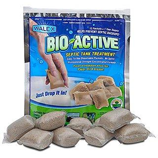 Bio-Active Septic Tank Treatment, 1 Year Supply