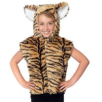 Tiger Costume For Kids. One Size 3-9 Years.