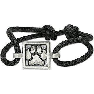 Zeldas Song Paw Rope Bracelet, Black