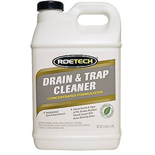 Roetech DTC-LC-2.5-1 Liquid Drain and Trap Cleaner, 2.5 gallon