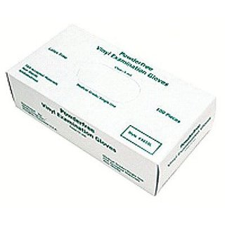 MCR Safety 5010M SensaTouch Vinyl Disposable Medical Grade Powder Free Gloves, Medium, 1-Pair