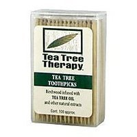 Tea Tree Therapy - Tea Tree & Menthol Toothpicks (100 Count)