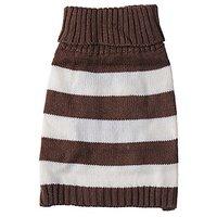 JJ Store Pet Puppy Cute Stripe Knitwear Coat Jumper Sweater Apparel Clothes For Small Medium Dog