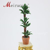 1:12 scale decorate Perfect Small trees Pot Model for dollhouse