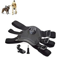 Color You Dog Harness Chest Back Detachable And Hound Dog Sport Pulling Chest Adjustable Strap For GoPro Hero
