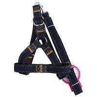 Pet Dog Chest Back Style Harness-Best For All Dogs-Sizes S M L Adjustable And Heavy Duty Pull Leash Harness-Perfect Ligh